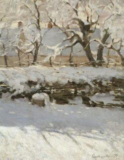 """Claude Monet """"Die Elster"""" 130 x 89 cm"""