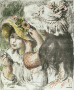 """Auguste Renoir """"Der mit Nadel befestigte Hut"""" 49 x 69 cm"""