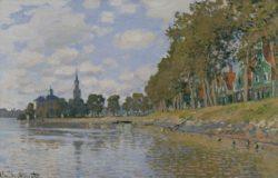 """Claude Monet """"Zaandam"""" 73 x 48 cm"""