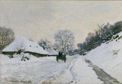 "Claude Monet ""Der Karren"" 92 x 65 cm"