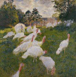 "Claude Monet ""Truthähne"" 172 x 174 cm"