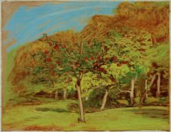 "Claude Monet ""Obstbäume"" 29 x 22 cm"