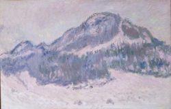 """Claude Monet """"Berg Kolsaas in Norwegen"""" 100 x 65 cm"""