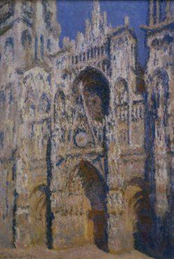 """Claude Monet """"Die Kathedrale von Rouen im Sonnenlicht"""" 73 x 107 cm"""