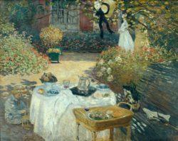 """Claude Monet """"Das Mittagessen"""" 203 x 162 cm"""