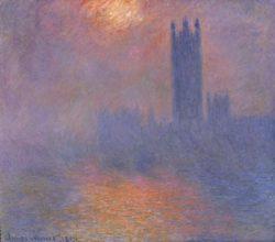 """Claude Monet """"London  das Parlament"""" 92 x 81 cm"""