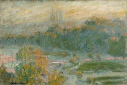 """Claude Monet """"Die Tuilerien"""" 75 x 50 cm"""