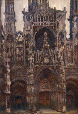 """Claude Monet """"Die Kathedrale von Rouen"""" 73 x 107 cm"""