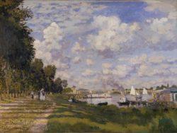 """Claude Monet """"Bassin d'Argenteuil"""" 80 x 60 cm"""
