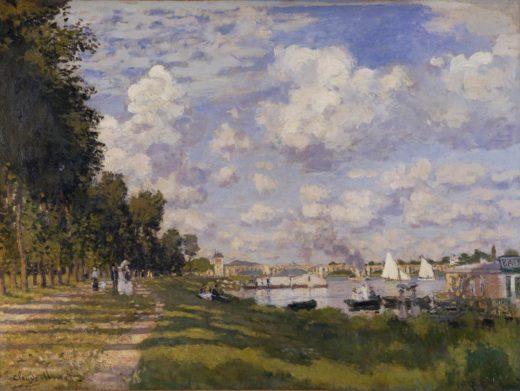 """Claude Monet """"Bassin d'Argenteuil"""" 80 x 60 cm 1"""