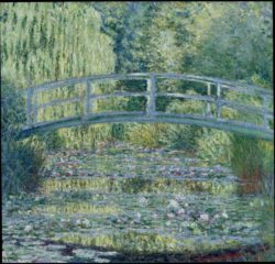 "Claude Monet ""Seerosenteich"" 97 x 89 cm"