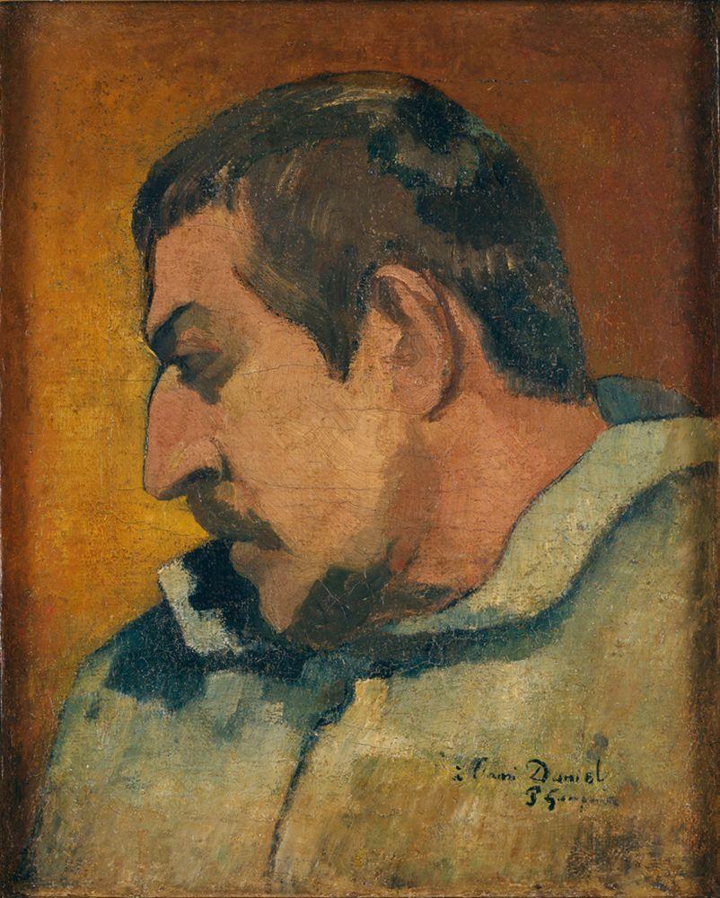 "Paul Gauguin ""Selbstbildnis""  32 x 41 cm"