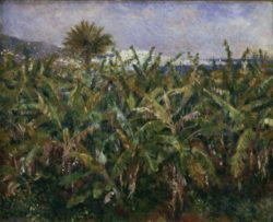 """Auguste Renoir """"Champ de bananiers"""" 63 x 51 cm"""