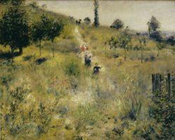 """Auguste Renoir """"Ansteigender Weg"""" 74 x 59 cm"""