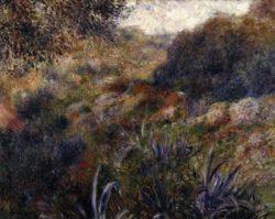 """Auguste Renoir """"Algerische Landschaft"""" 81 x 65 cm"""