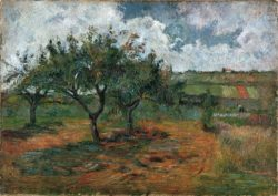 "Paul Gauguin ""Blühende Apfelbäume""  65 x 46 cm"