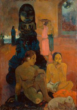 "Paul Gauguin ""Der große Buddha""  95 x 134 cm"