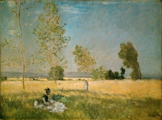 "Claude Monet ""Sommer"" 80 x 57 cm 1"