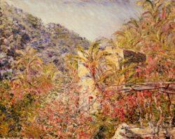 """Claude Monet """"Das Sassotal in der Sonne"""" 81 x 65 cm"""