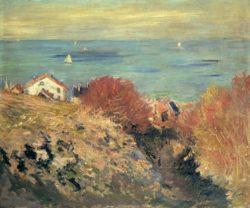 """Claude Monet """"Pourville"""" 65 x 54 cm"""