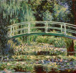 """Claude Monet """"Der Seerosenteich"""" 93 x 89 cm"""