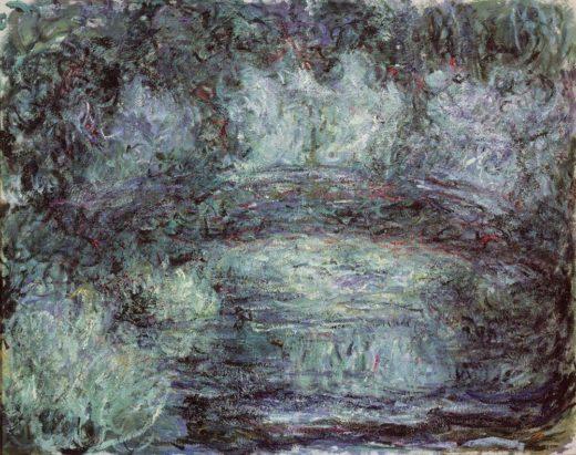 """Claude Monet """"Die japanische Brücke"""" 92 x 74 cm 1"""