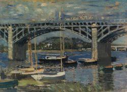 "Claude Monet ""Die Brücke bei Argenteuil"" 81 x 60 cm"
