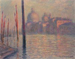 "Claude Monet ""Santa Maria della Salute et le Grand Canal"" 91 x 72 cm"