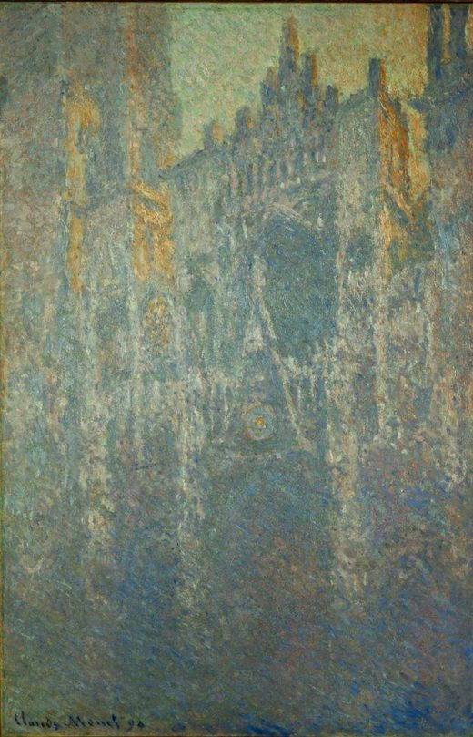 """Claude Monet """"Die Kathedrale von Rouen"""" 65 x 100 cm 1"""