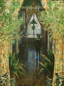"Claude Monet ""Wohnungsinterieur"" 60 x 81 cm"