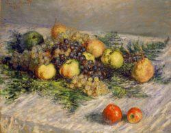 """Claude Monet """"Birnen und Trauben"""" 81 x 65 cm"""