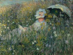 """Claude Monet """"Dans la Prairie"""" 82 x 60 cm"""