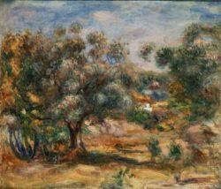 "Auguste Renoir ""Cagnes"" 51 x 44 cm"