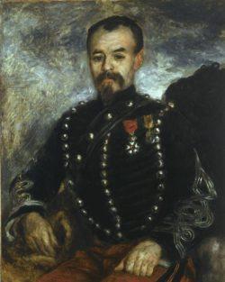 "Auguste Renoir ""Bildnis Capitaine Darras"" 65 x 81 cm"