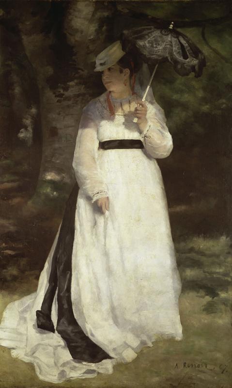 """Auguste Renoir """"Lise mit Sonnenschirm"""" 115 x 184 cm"""