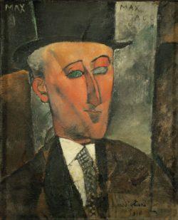 "Amedeo Modigliani ""Max Jacob"" 73 x 60""cm"