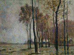 """Claude Monet """"Das Hochwasser in Argenteuil"""" 73 x 54 cm"""