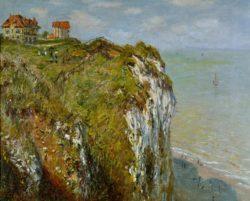 """Claude Monet """"Steilküste bei Dieppe"""" 81 x 65 cm"""
