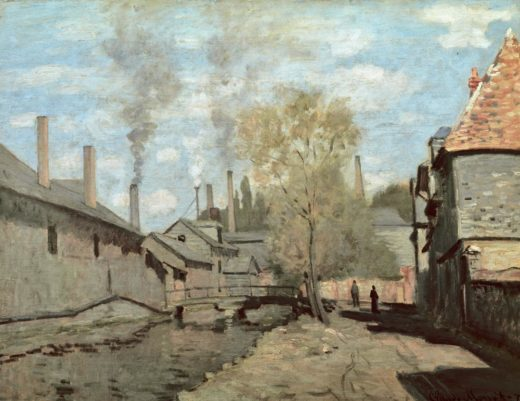 """Claude Monet """"Das Flüsschen """" 65 x 50 cm 1"""