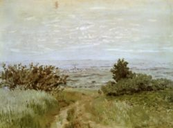 "Claude Monet ""Die Ebene bei Argenteuil"" 72 x 53 cm"