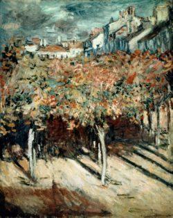 "Claude Monet ""Blick aus dem Fenster der Villa Saint-Louis"" 65 x 81 cm"