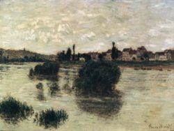 """Claude Monet """"Die Seine bei Lavacourt"""" 74 x 55 cm"""