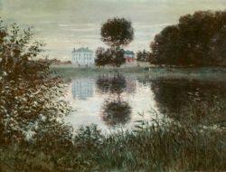 "Claude Monet ""Der kugelförmige Baum in Argenteuil"" 81 x 60 cm"