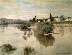 """Claude Monet """"Die Seine bei Lavacourt"""" 74 x 56 cm"""