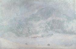 """Claude Monet """"Der Berg Kolsaas im Schneesturm"""" 100 x 65 cm"""