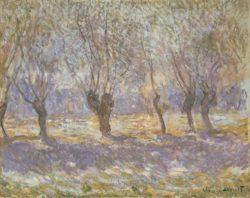 """Claude Monet """"Weiden in Giverny"""" 93 x 73 cm"""