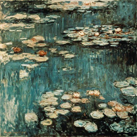 "Claude Monet ""Nympheas -Seerosen"" 200 x 200 cm 1"