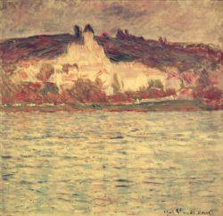 "Claude Monet ""Blick auf Vetheuil"" 93 x 90 cm"