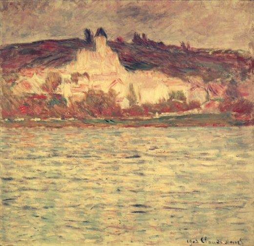"Claude Monet ""Blick auf Vetheuil"" 93 x 90 cm 1"