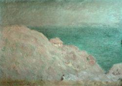 """Claude Monet """"Die Hütte des Zollwärters"""" 92 x 65 cm"""